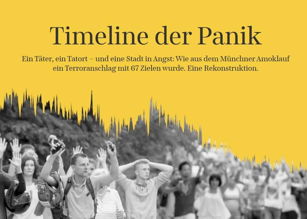 """""""Timeline der Panik"""""""