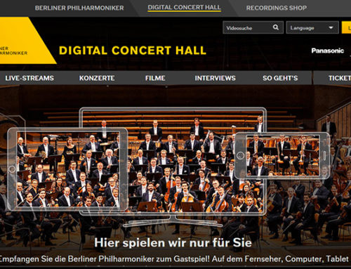 »The Highest Level« – die Digital Concert Hall der Berliner Philharmoniker