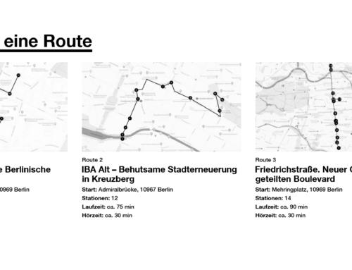 """Auditive Architek""""touren"""": Berliner Architekturgeschichte mit den Ohren statt per Pedes erleben"""